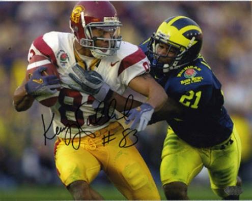 Keary Colbert Usc Trojans 8x10 Autographed Photograph