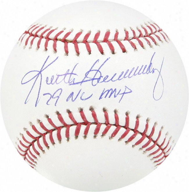 Keith Hernandez Autographed Baseball  Details: &quot79 Nl Mvp&quot Inscription