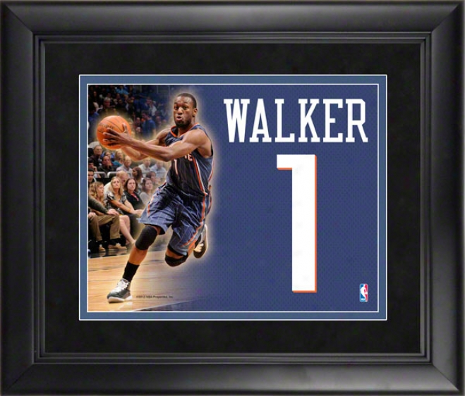 Kemba Walker Charlotte Boobcats Framed Jersey Number Collage