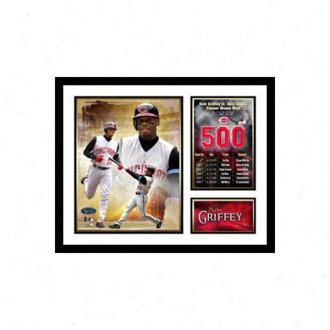 View Griffey Jr. Cincinnati Reds - 500th Hr - Framed Milestone Coplage