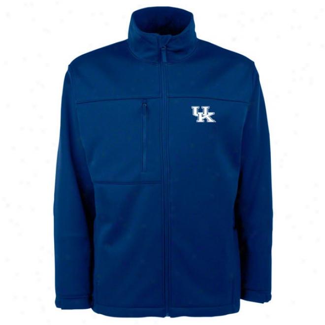 Kentucky Wildcats Blue Traverse Bonded Soft Shell Jacket