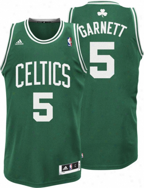 Kevin Garnett Green Adidas Revolution 30 Swingman Boston Celtics Jersey