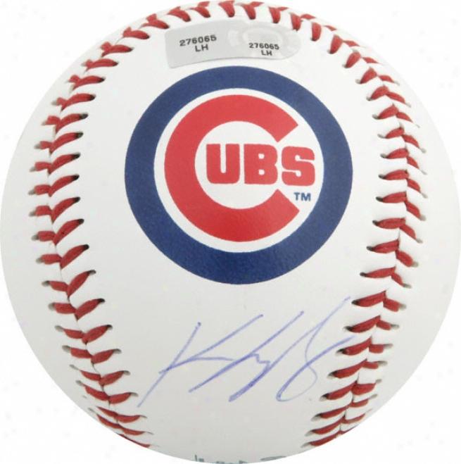 Kegin Gregg Autographed Baseball  Details: Logo Basenall