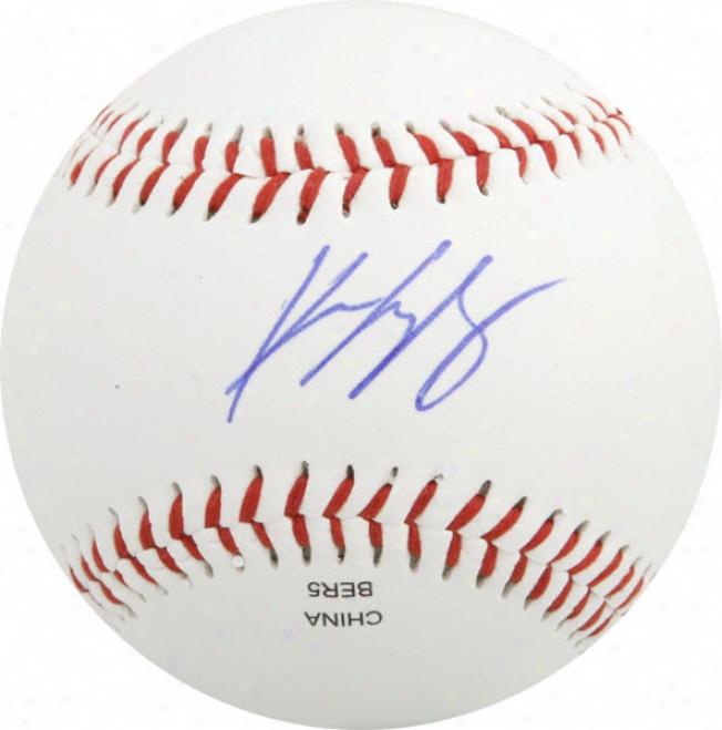 Kevin Gregg Autographed Baseball  Details: Olb3 Basebali