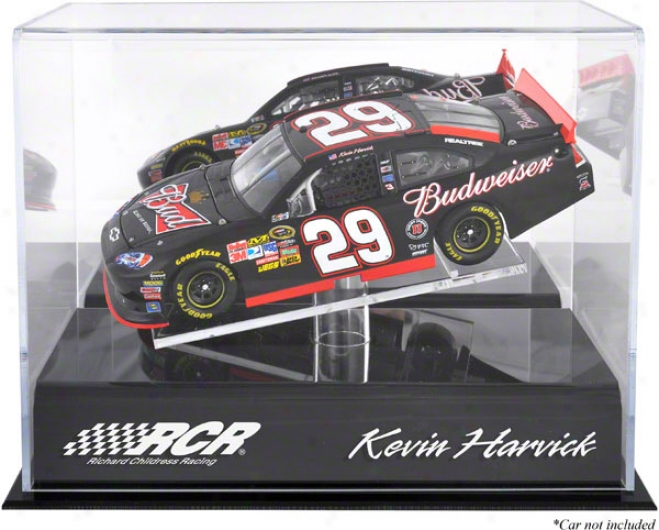 Kevin Harvick 1/24th Die Cast Display Case With Platform