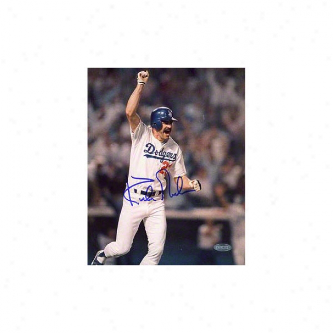 Kirk Gibson Los Angeles Dodgers 16x20 Autographed Photograph