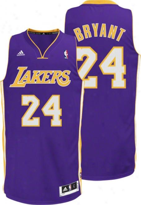 Kobe Bryant Purple Adidas Revolution 30 Swingman Los Angeles Lakers Jersey
