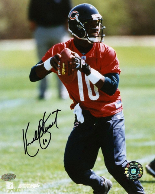 Kordell Stewart Chicago Bears 8x10 Autographed Photograph