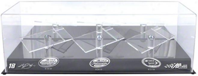 Kyle Busch 1/24th Die Cast Three Car Display Case  Details: Bristol Sweep