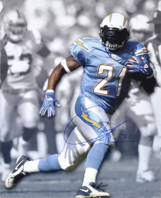 Ladainian Tomlinson San Diego Chargers Autographed 16x20 Photograph