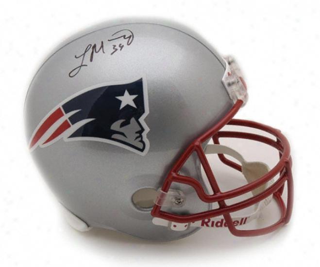Laurence Maroney Autographed Helmet  Particulars: Unaccustomed England Patriots