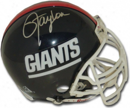 Lawrence Taylor New York Giants Autographed Helmet