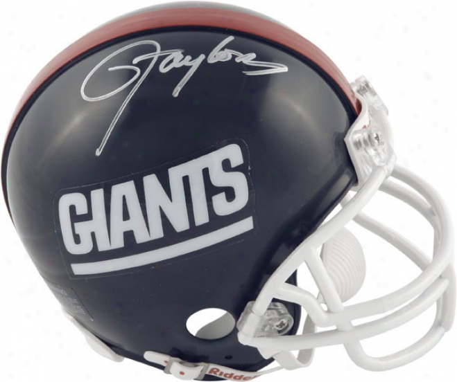 Lawrence Taylor New York Giants Autographed Mini Helmet