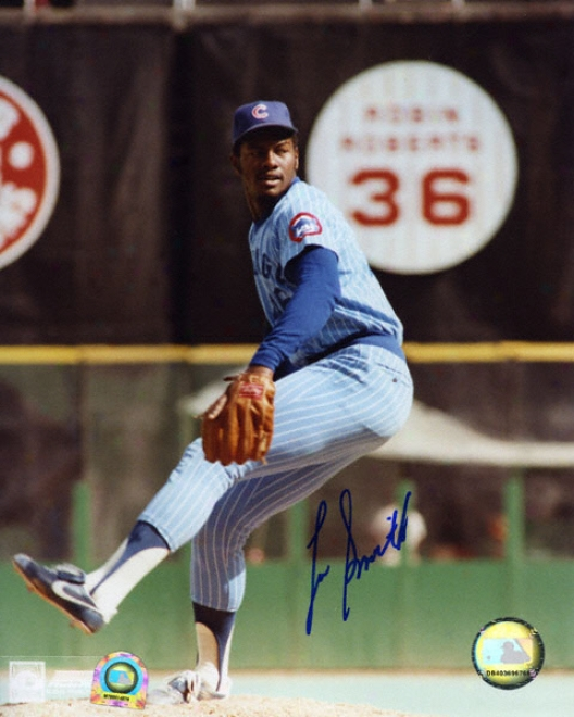 Lee Smith Chicago Cubs 8x10 Autographed Photogdaph
