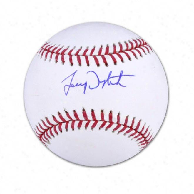 Lenny Dykstra New York Mets Autographed Baseball