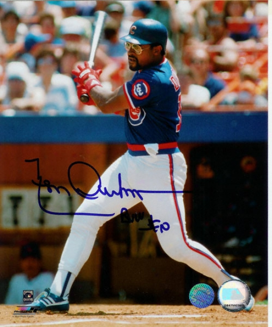 Leon Durham Chicago Cubs Autographed 8x10 Photo