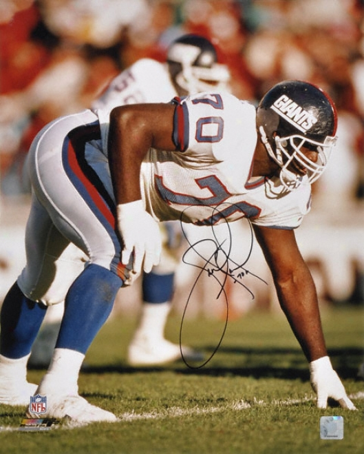 Leonard Marshall New York Giants - Vs. 49ers - Autographed 16x20 Photograph