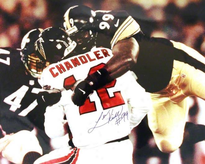 Levon Kirkland Pittsburth Steelers Autographed 16x20 Photo