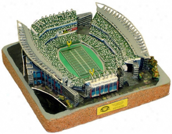 Lincoln Financial Field Stadium Replica - Gold Series