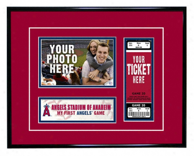 Los Angeles Angels - My First Game - Ticket Frame