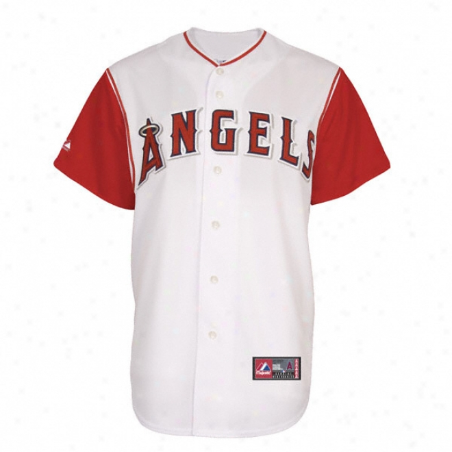 Los Angeles Angels Of Anaheim 2009 Alternate Pale Mlb Replixa Jersey