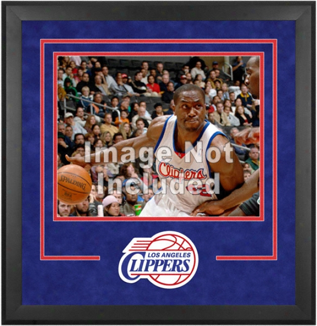 Los Angeles Clippers 16x20 Horizontal Setup Frame With Team Logo