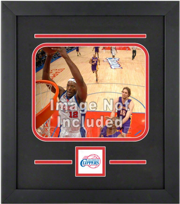 Los Angeles Clippers 8x10 Horizonral Setup Frame With Team Logo