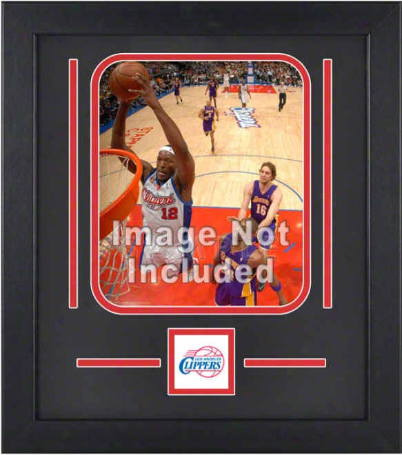 Los Angeles Clippers 8x10 Vertical Setup Frame With Team Logo