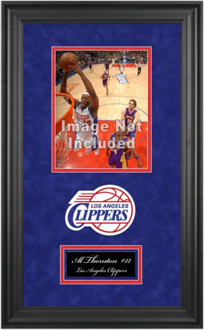 Los Angeles Clippers Deluxe 8x10 Team Logo Frame