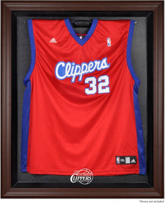 Los Angeles Clippers Jersey Disolay Case