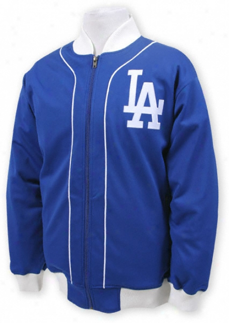 Los Angele sDodgers Mitchell & Ness Sportsman's Track Jacket