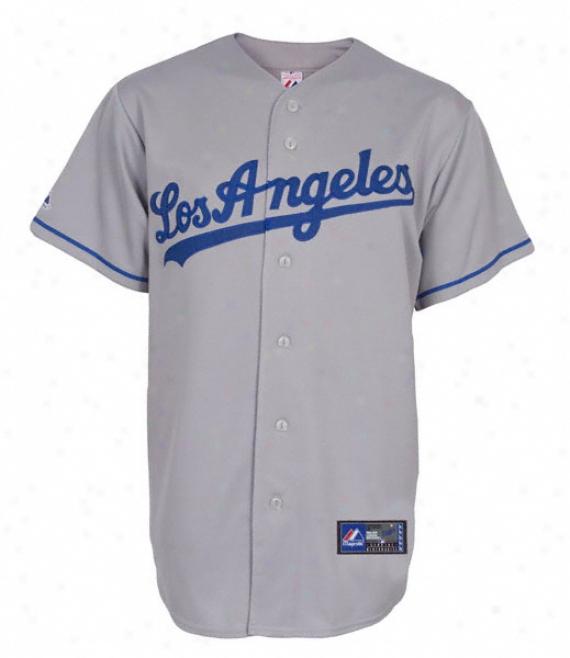 Los Angeles Dodgers Road Mlb Replica Jersey