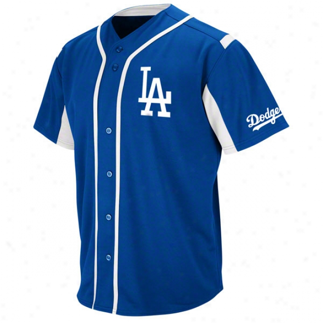 Los Angeles Dodgers Royal Wind-up Jersey