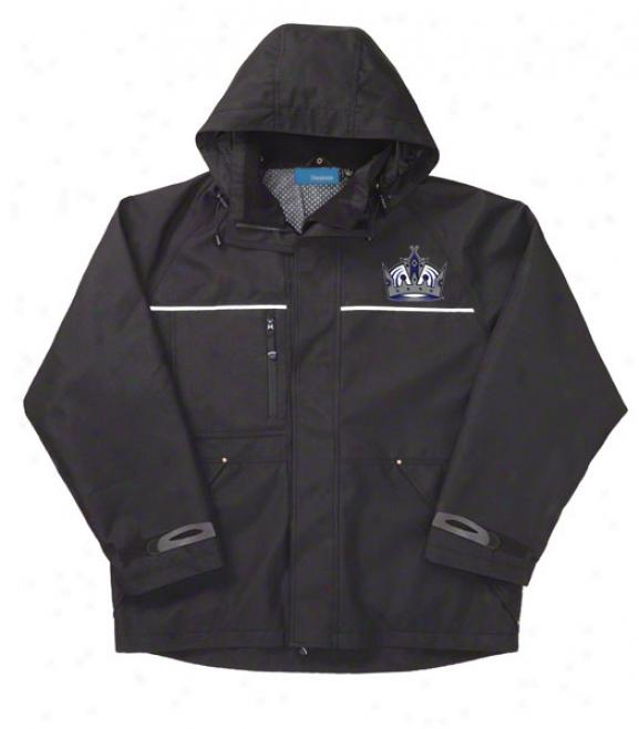 Los Angeles Kings Jacket: Black Reebok Yukon Jacket