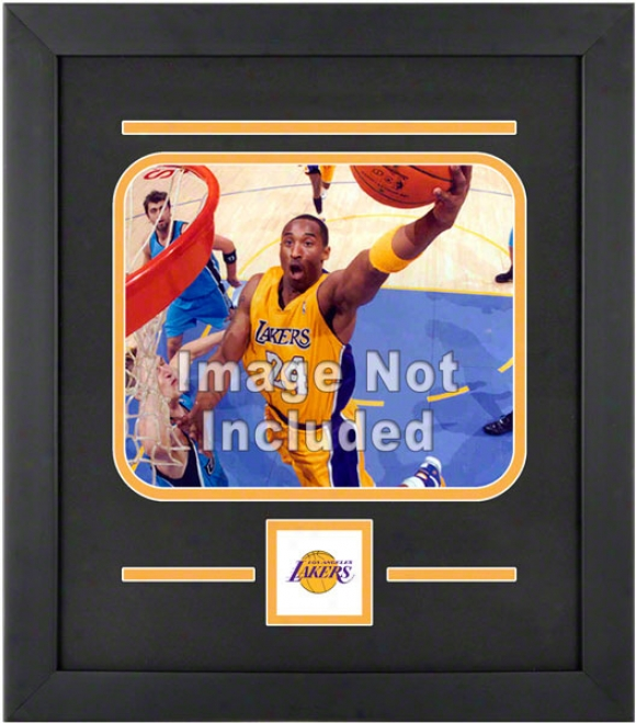 Los Angeles Lakers 8x10 Horizontal Setup Frame With Team Logo