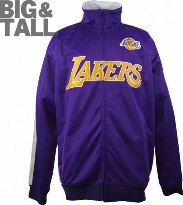 Los Angeles Lakers Big & Tall Tricot Track Jacket
