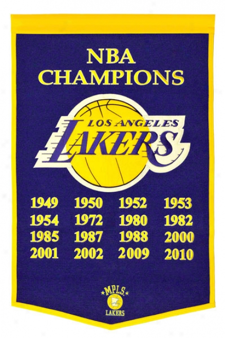 Los Angeles Lakers Race of rulers Banner
