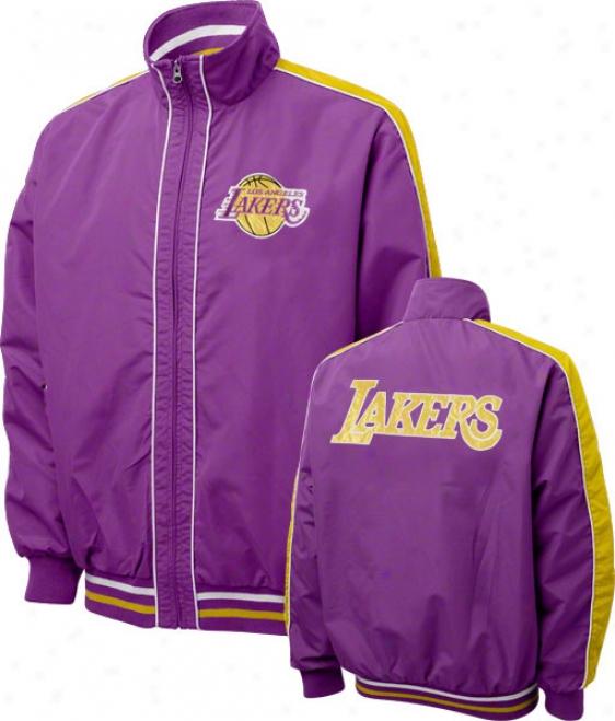 Los Angeles Lakers Victorious Full-iz Lightweight Jacket