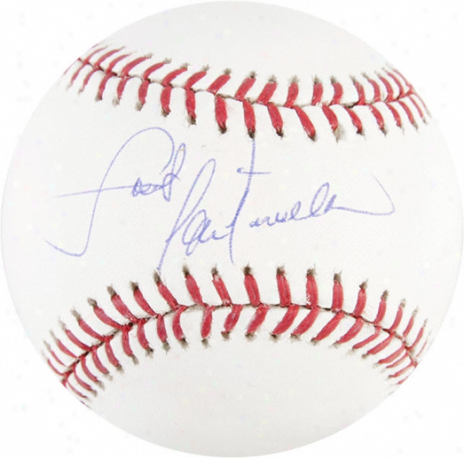 Lou Piniella Chicago Cubs Autographed Baseball W/ &quotsweet&quot Inscription