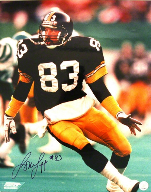 Louis Lipps Pittsburgh Sgeelers Autographed 16x20 Photo