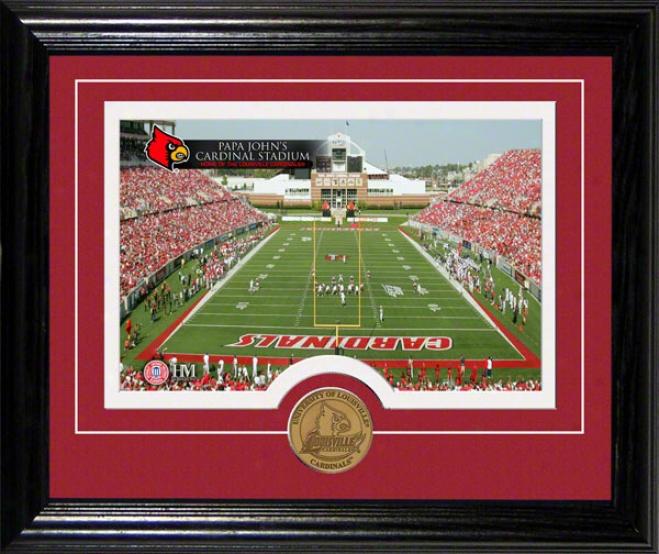 Louisville Cardinals Papa John's Cardinals Stadium Desktop Photograph