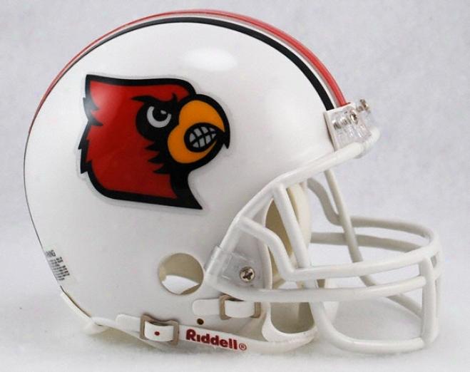 Louisville Cardinals Riddell Mini Helmet