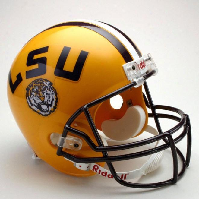 Lsu Tigers Deluxe Replica Riddell Helmet