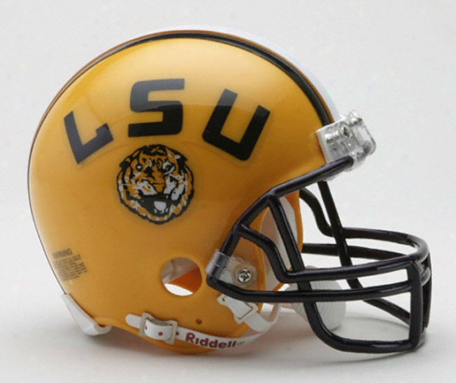 Lsu Tigers Riddell Mini Helmet
