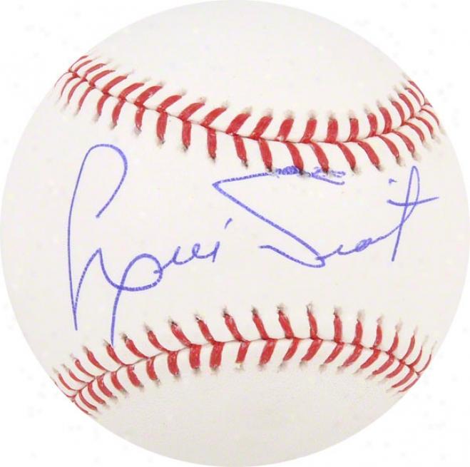 Luis Tiant Autographed Basebakl  Details: Boston Red Sox