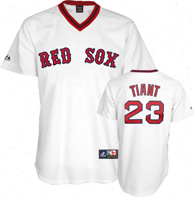 Luis Tiant Boston Red Sox Cooperstown Replica Jersey