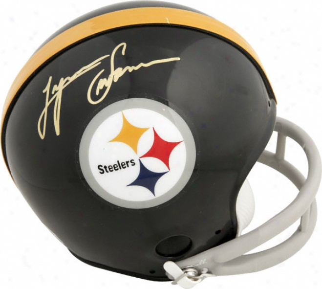 Lynn Swann Autographed Mini Helmet - Pittsburgh Steelers Signed Mini Helmet