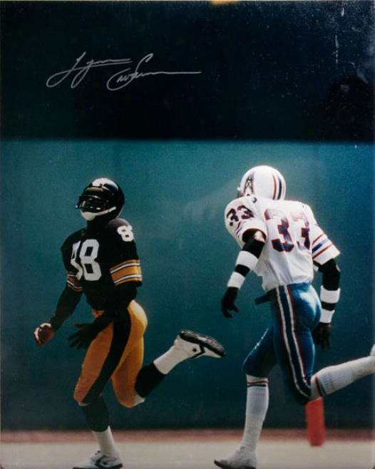 Lynn Swann Autographed Photograph - Pittsburgh Steelers 16x20 Signed Picture