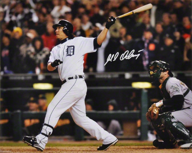 Magglio Ordonez Detroit Tigers - Alcs Walk-off Hr - Autographed 16x20 Photo