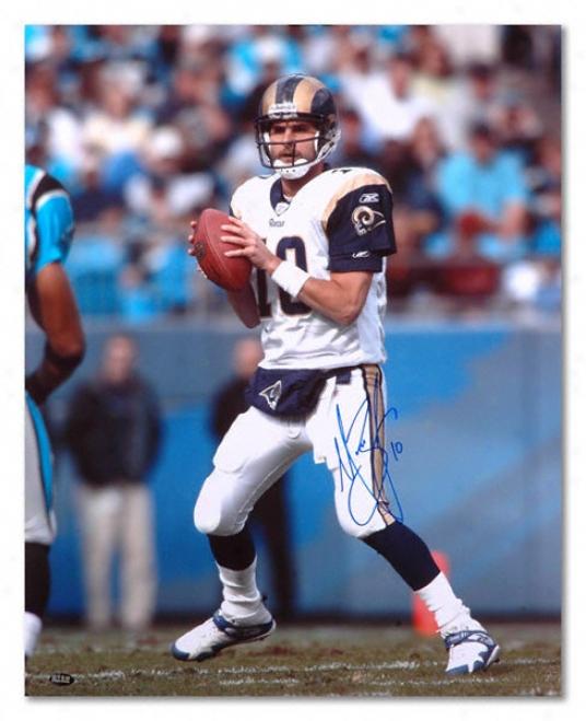 Marc Bulger St. Louis Rams Autographed 16x20 Photograph